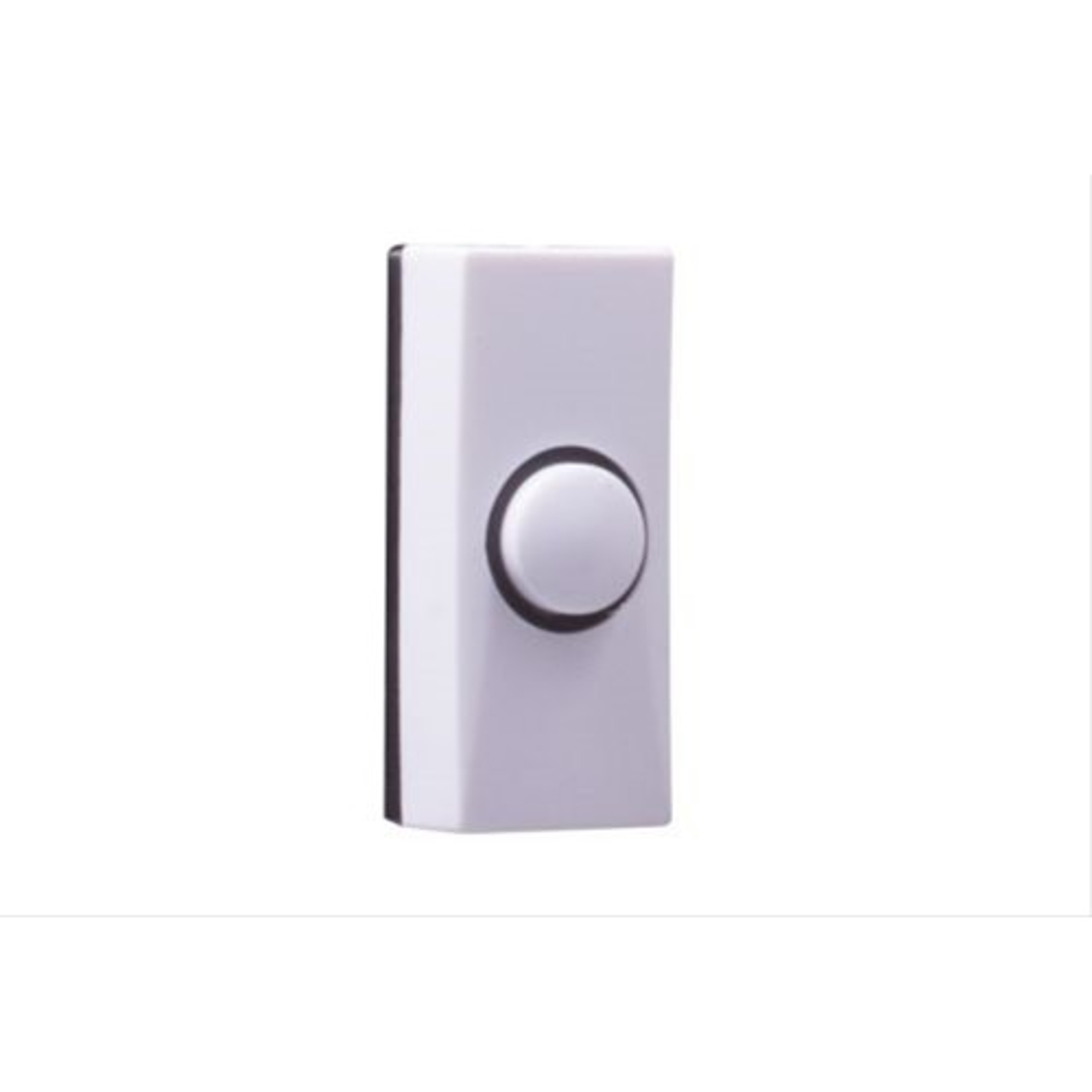 Byron 7910 Bell Push, White