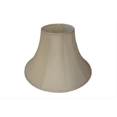 "22"" Cotton Bell Shade, Cream"