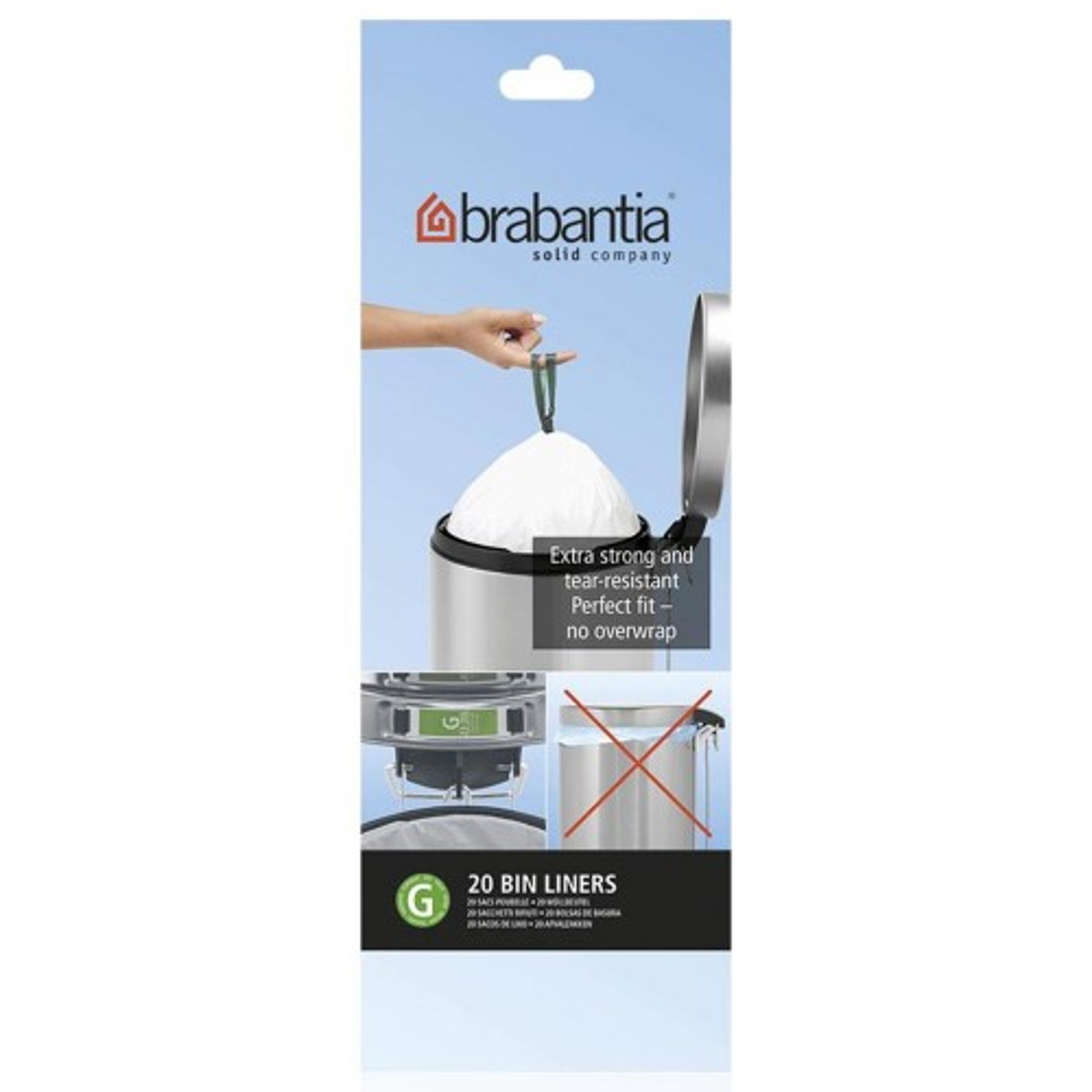 Brabantia 30l Bin Liners (pack of 20)