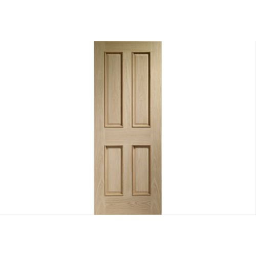 "XL Joinery 30"" Internal Victorian Oak Door 4 Panel"