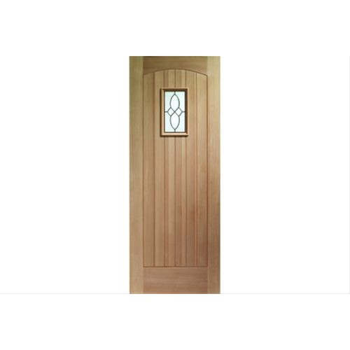 "XL Joinery 30"" External Oak Door, Triple Glazed"