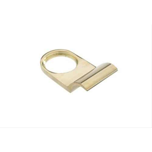 Yale Cylinder Door Pull in Brass