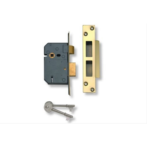 Yale Lever Sash Lock 2.5'', Satin Chrome