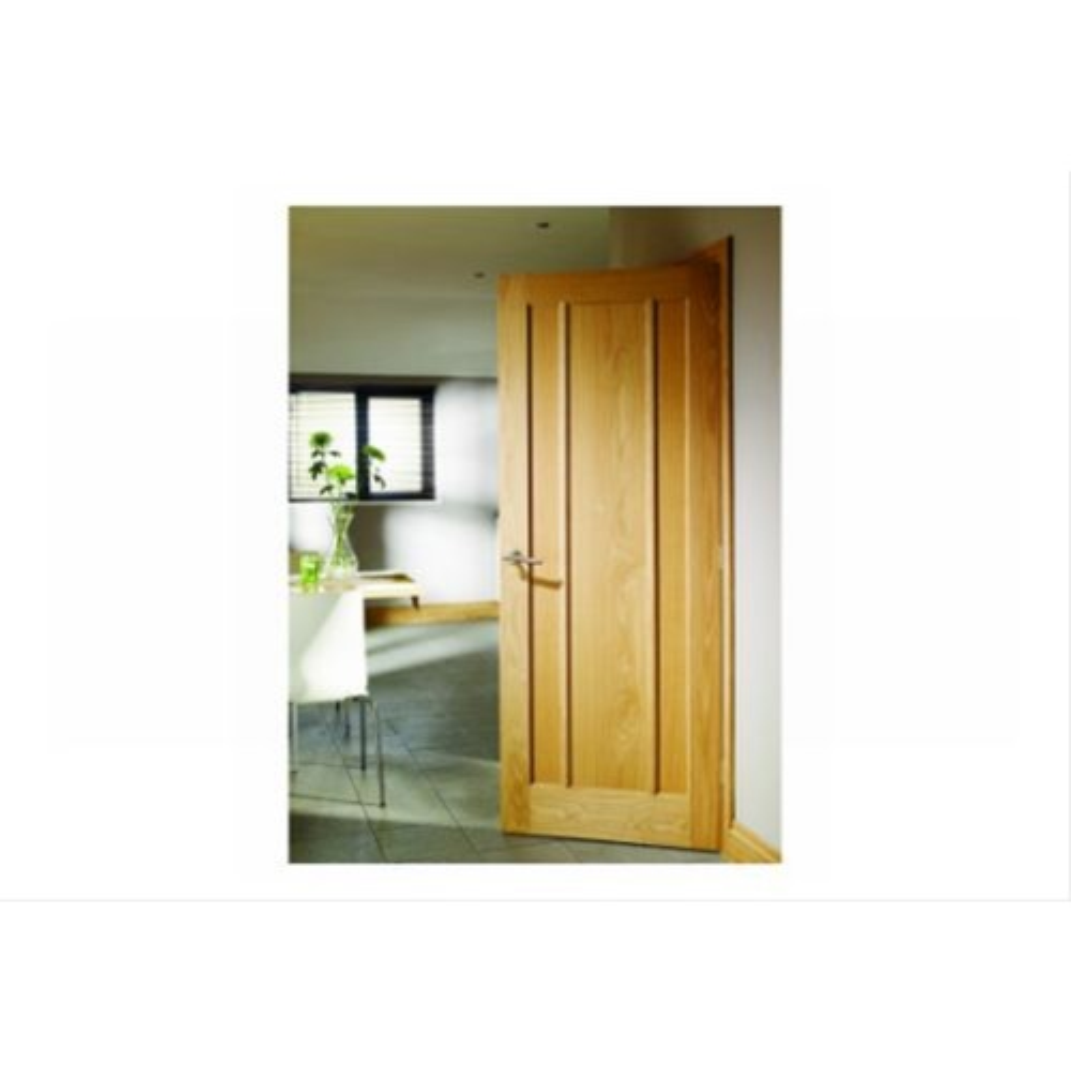 """XL Joinery 33"""" Internal Oak Door 3 Panel"""