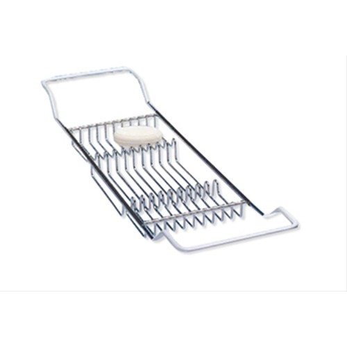 Oxford Chrome Finish Bath Bridge, Large