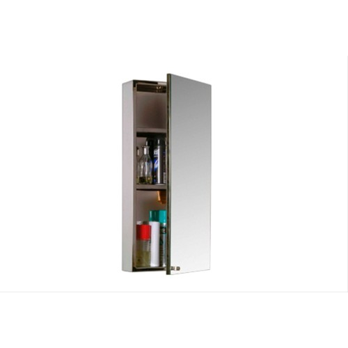 Stainless Steel Mirror Door Cabinet 30x67x12cm