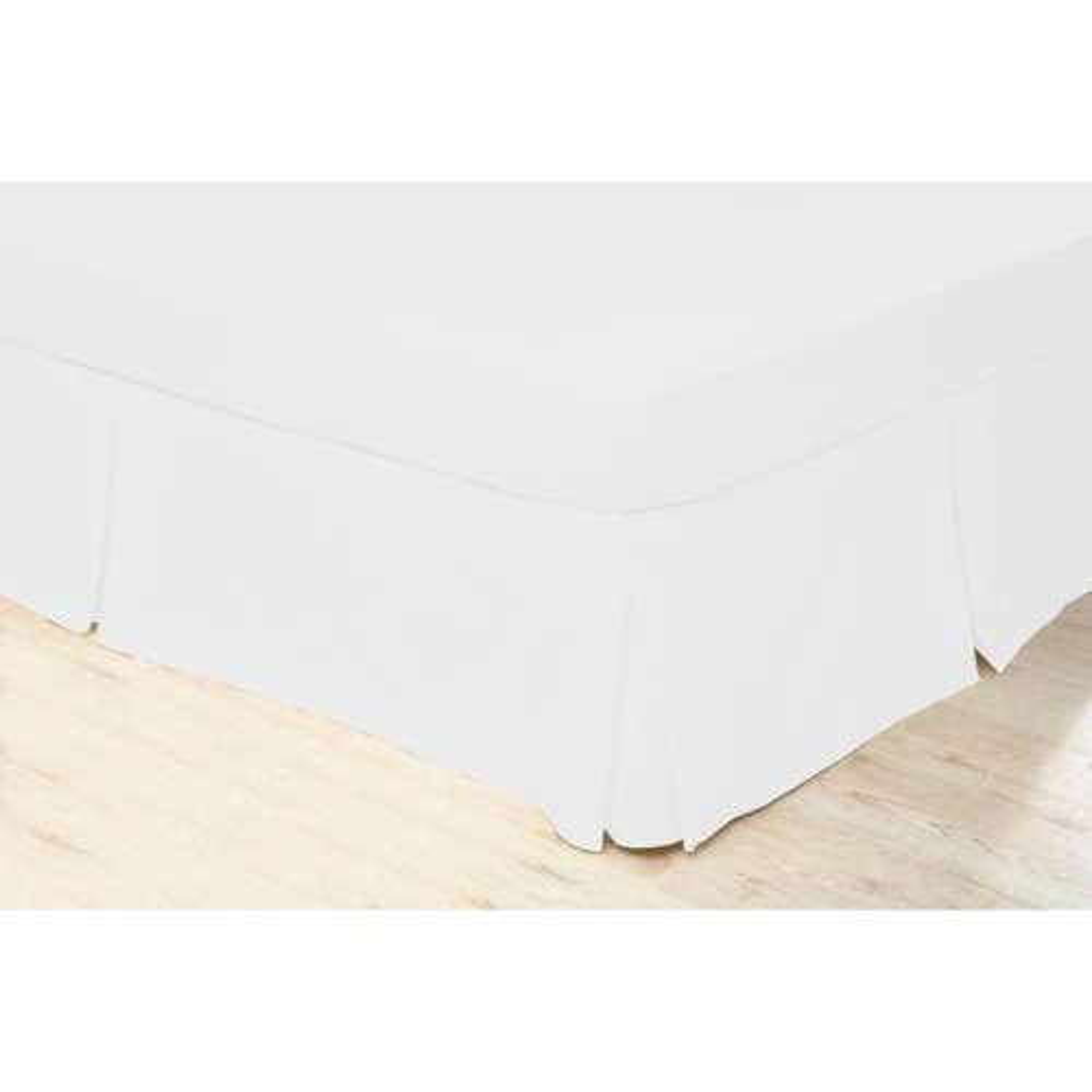 Beldorm Valance Platform Sheet,Kingsize,White