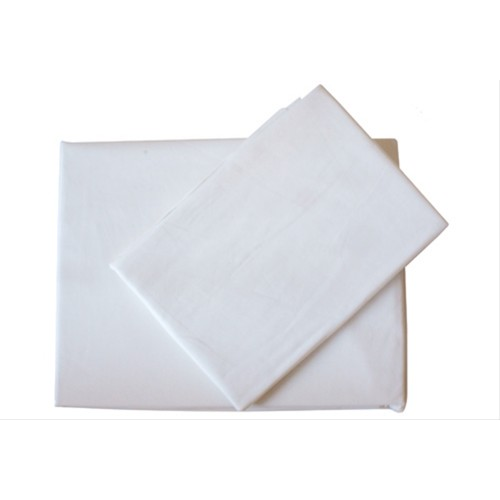 Casa Ivory 200 Count Poly Cotton Extra Deep Fitted Sheet Double