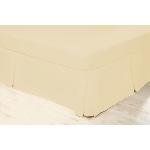 Beldorm Valance Platform Sheet, Double, Cream