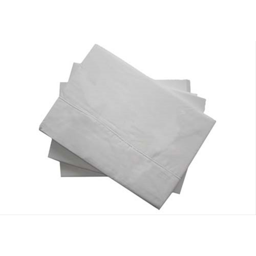 Casa White 400 Count Egyptian Cotton Fitted Sheet Double