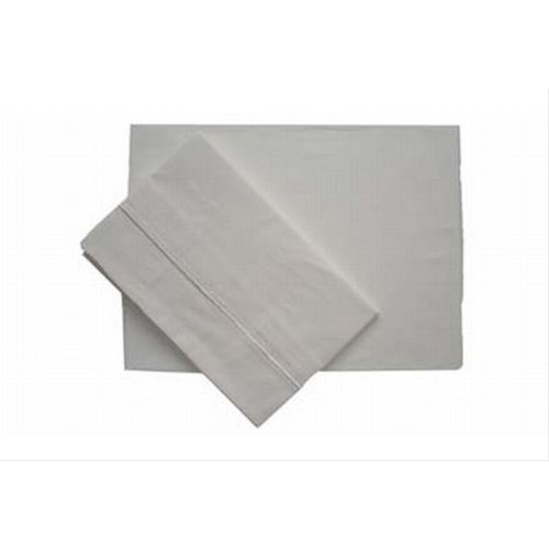 Casa Egyptian Cotton Single Flat Sheet Ivory