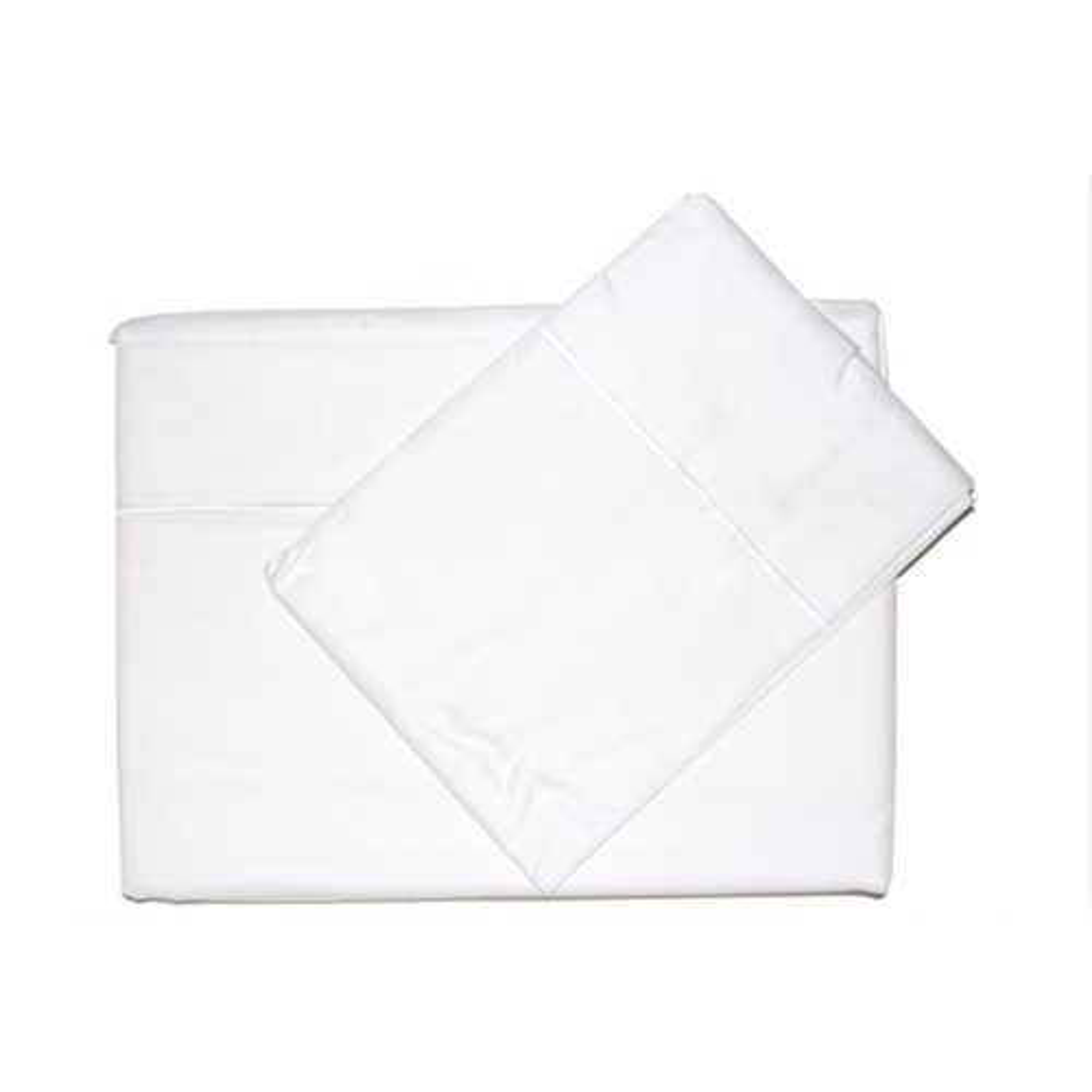 Casa Cream 400 Count Egyptian Cotton Flat Sheet Kingsize
