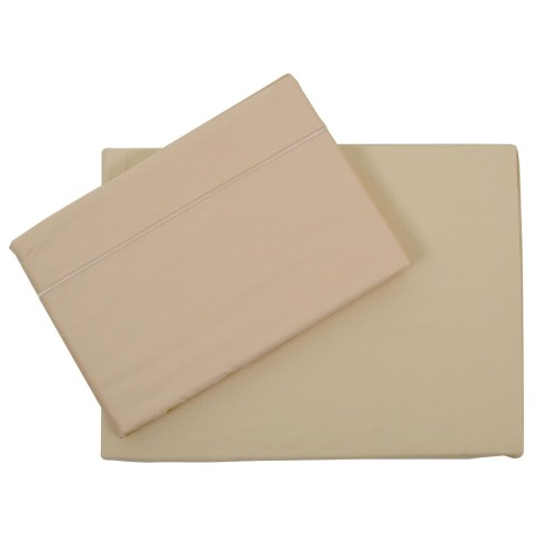 Casa Double Fitted Sheet, Cream