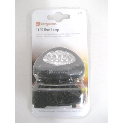 Kingavon 5 Led Head Lamp