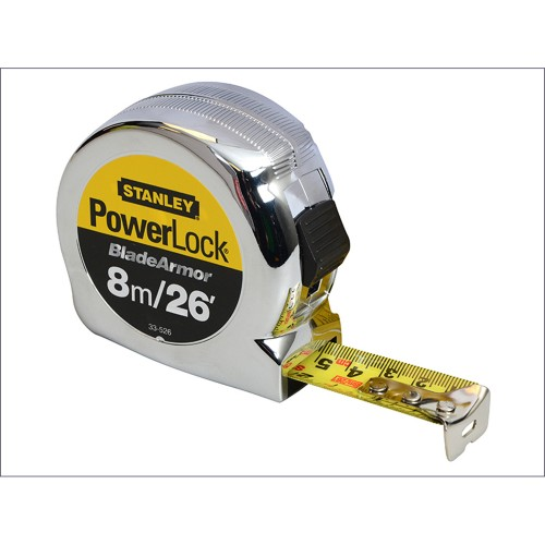 Stanley 8 Metre Powerlock Rule