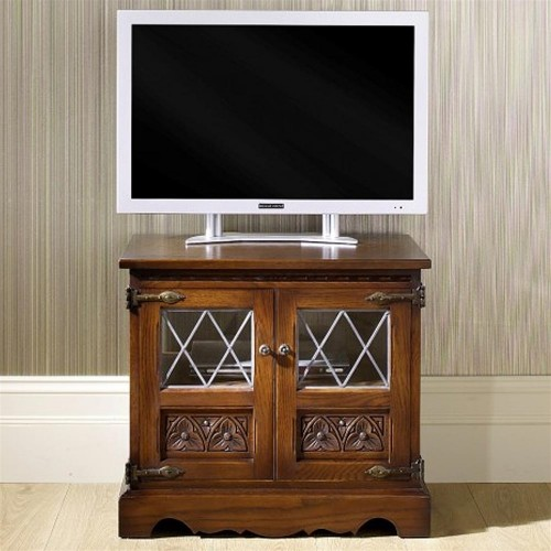 Old Charm TV Video Cabinet