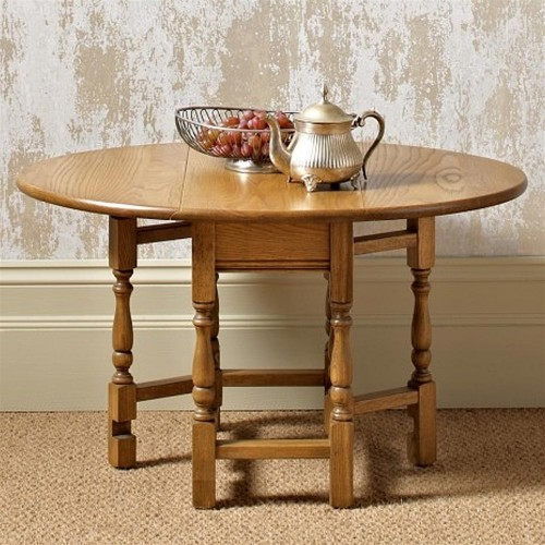 Old Charm Occasional Gateleg Table