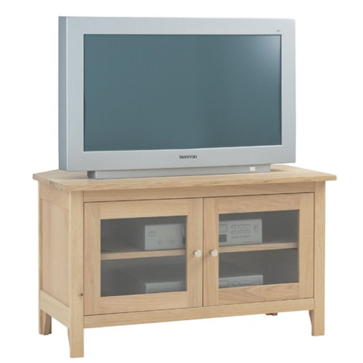 Corndell Nimbus Glazed Corner TV Cabinet