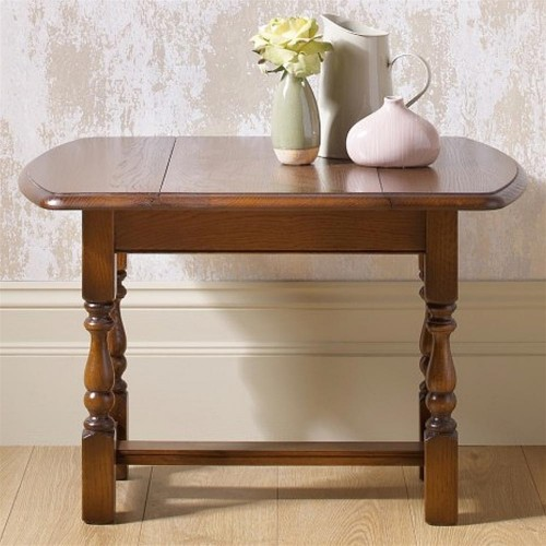 Old Charm Swivel Occasional Table