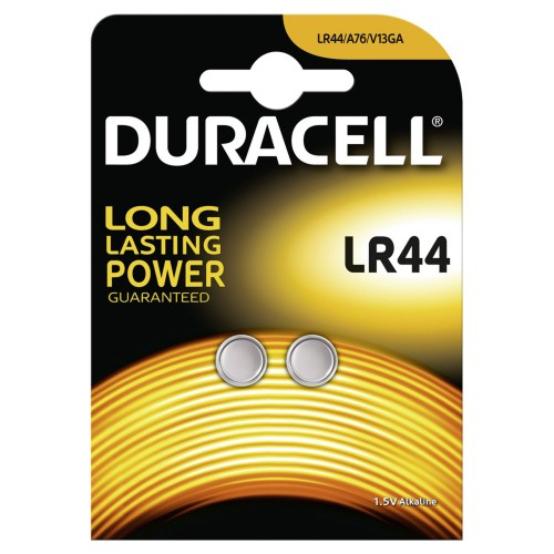 Duracell Electronics LR44 2 Pack
