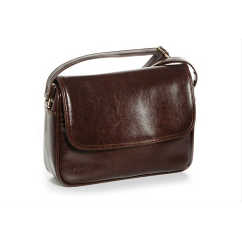 Jane Shilton Organiser Medium Multi Compartment Shoulder Bag Brown