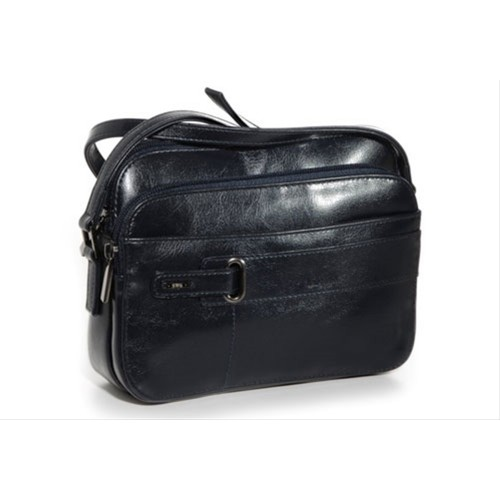 Jane Shilton Finsbury Small Multi Compartment Shoulder Bag Navy