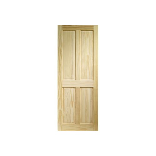 XL Joinery Internal Clear Pine 4 Panel Victorian Door