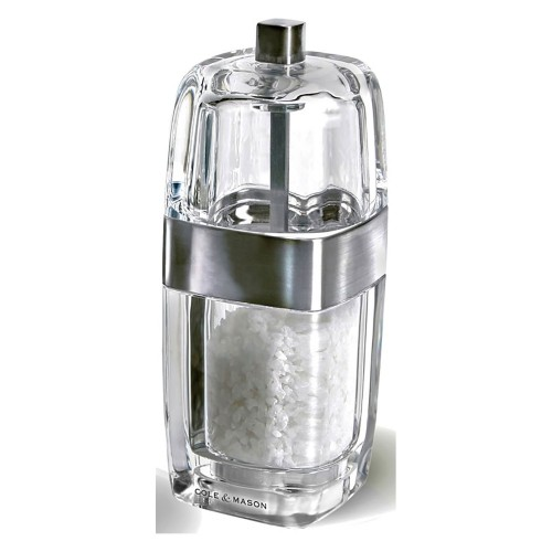 William Levene 140mm Seville Salt Mill Cl Chrome