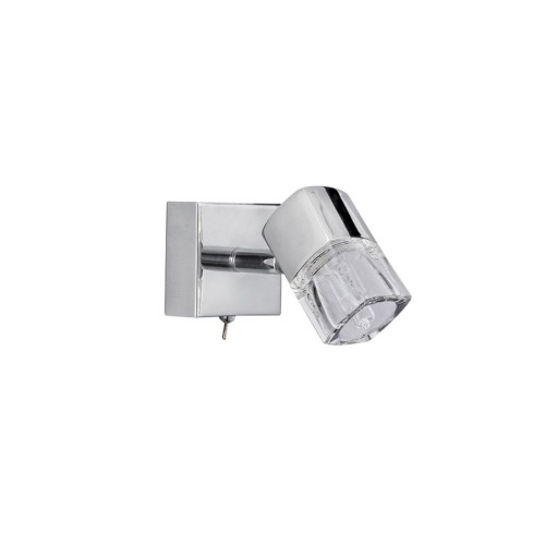 Blocs Single Spot Light, Chrome