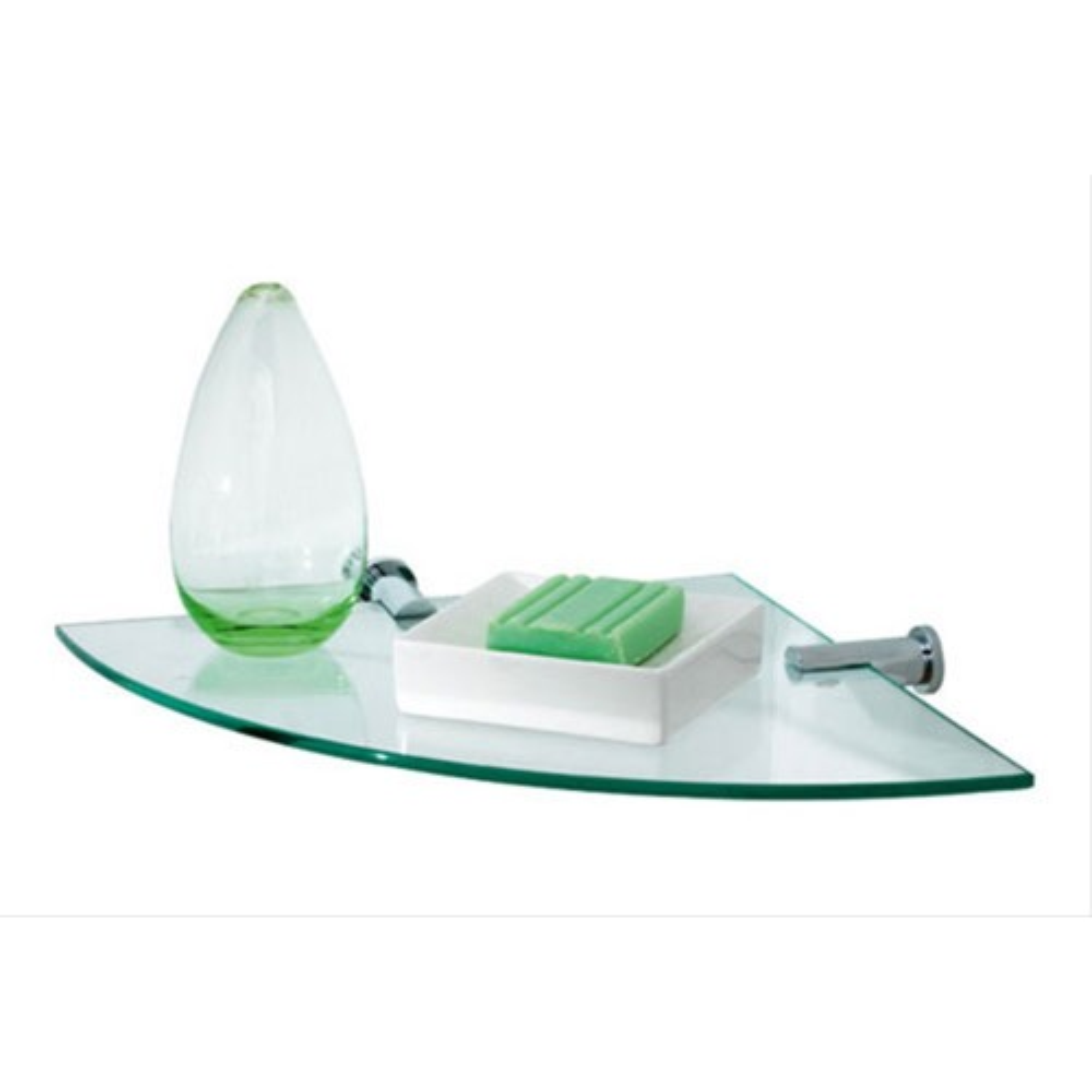 Showerdrape Infinity Corner Vanity Shelf