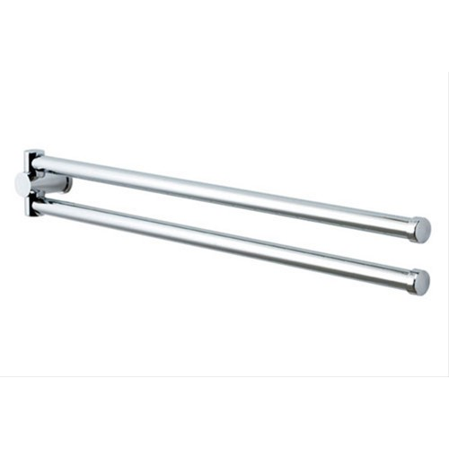 Showerdrape Infinity Doulbe Swivel Towel Rail