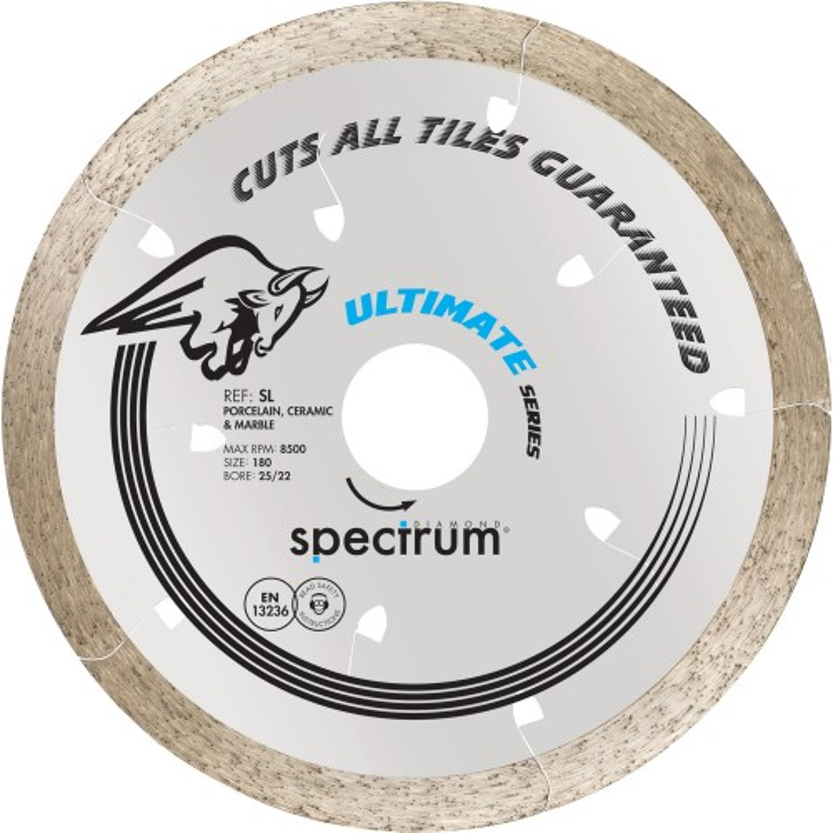 Spectrum Ultimate 8mm Diamond Blade