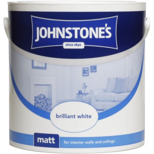 Johnstones 6l Matt Pb White