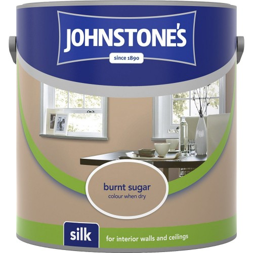 Johnstones 2.5l Silk Emulsion, Burnt Sugar