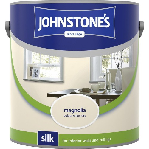 Johnstones 2.5l Silk Emuslion, Magnolia