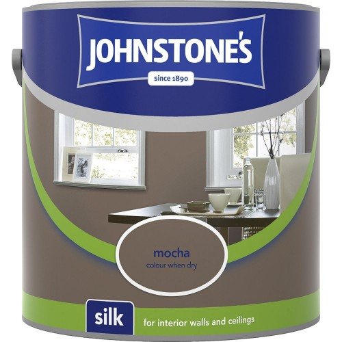 Johnstones 2.5l Silk Emulsion, Mocha