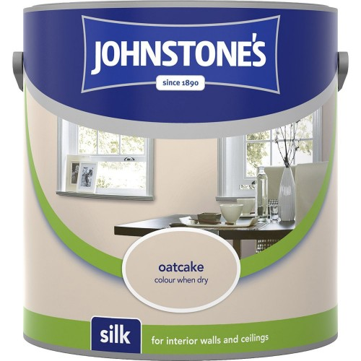 Johnstones 2.5l Silk Emulsion, Oatcake
