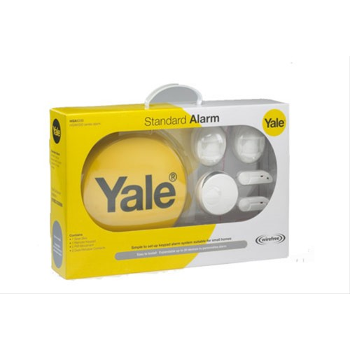 Yale HSA6200 Standard Wireless Alarm System Kit