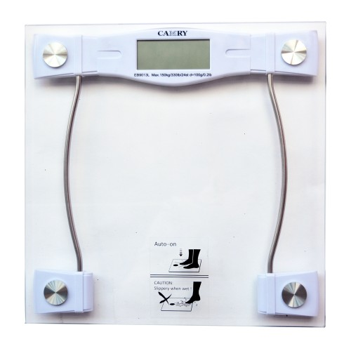 Casa Charcoal Sqaure Glass Scale