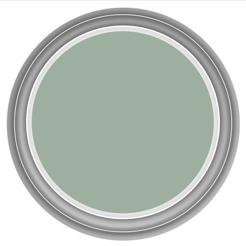 Farrow & Ball 2.5litre Estate Emulsion, No.84 Green Blue