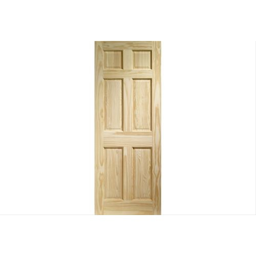 XL Joinery Internal Clear Pine 6 Panel Door