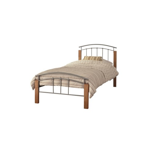 Casa Tetras Beech Single Bed Frame
