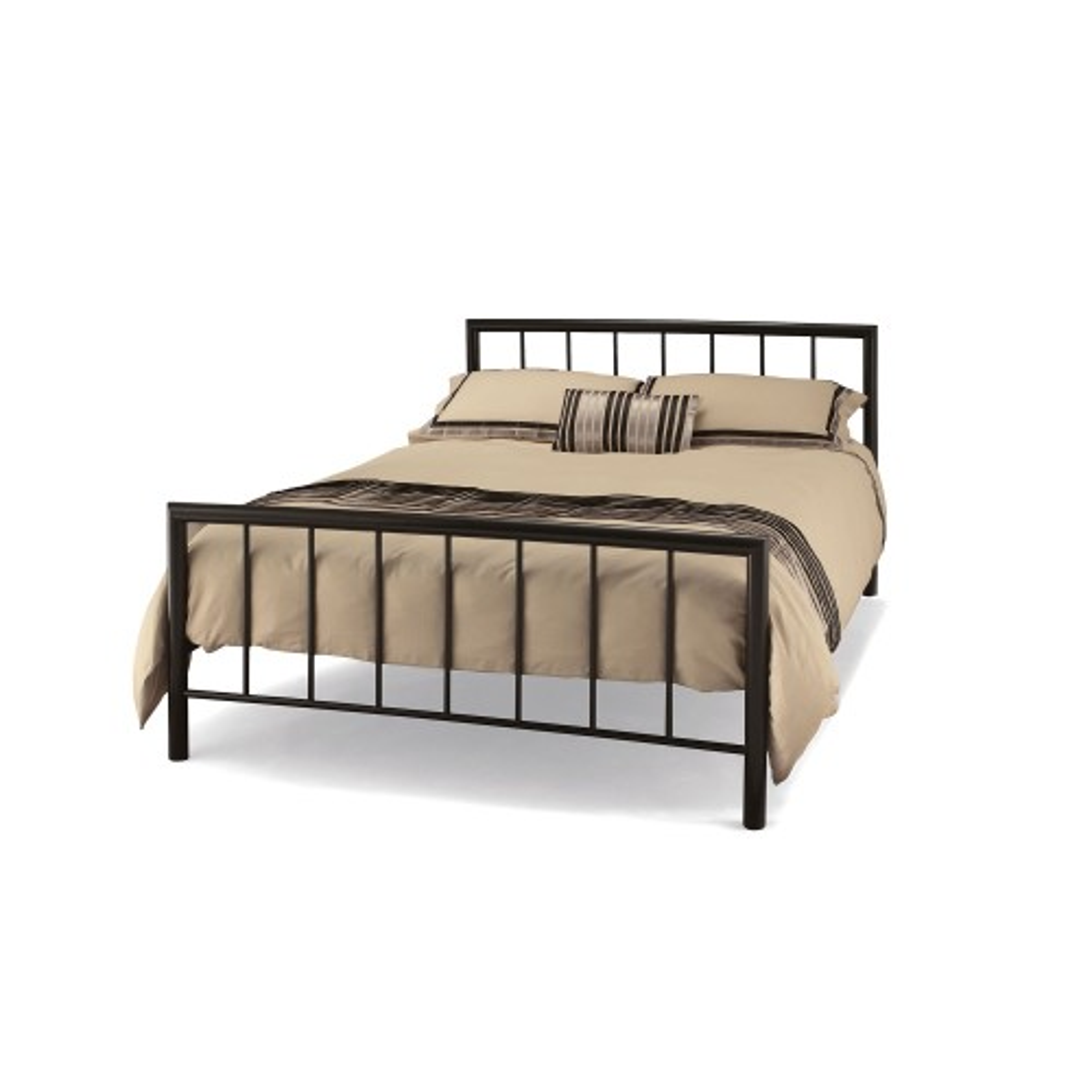 Casa Modena Double Bed Frame, Black