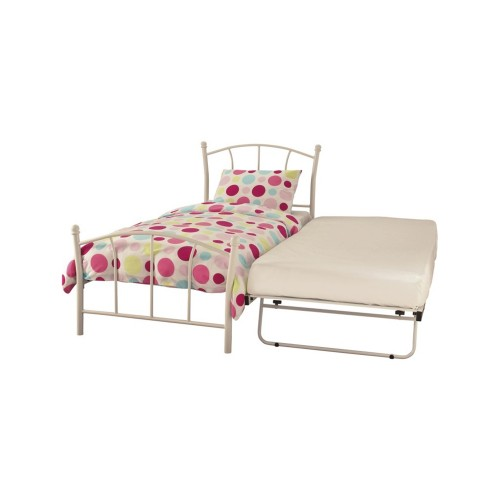 Casa Penny Single Guest Bed, White