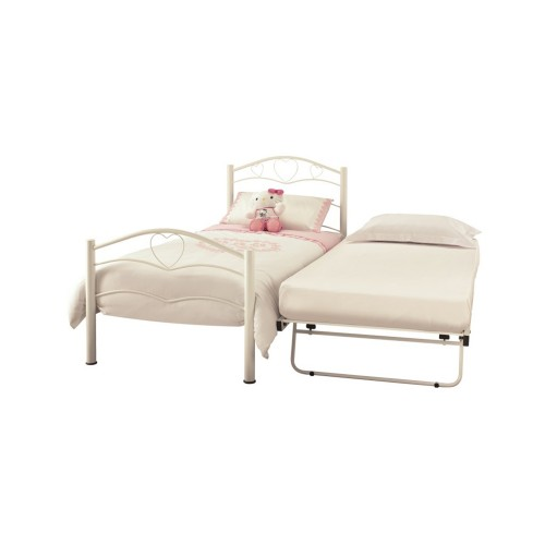 Casa Yasmin Single Guest Bed, White