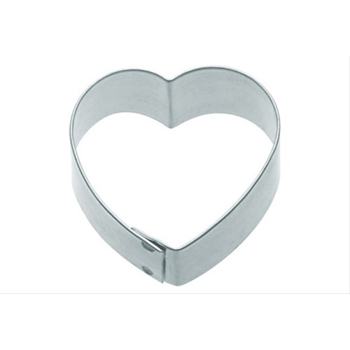 Kitchen Craft 7.5cm Heart Shaped Metal Cookie Cutter