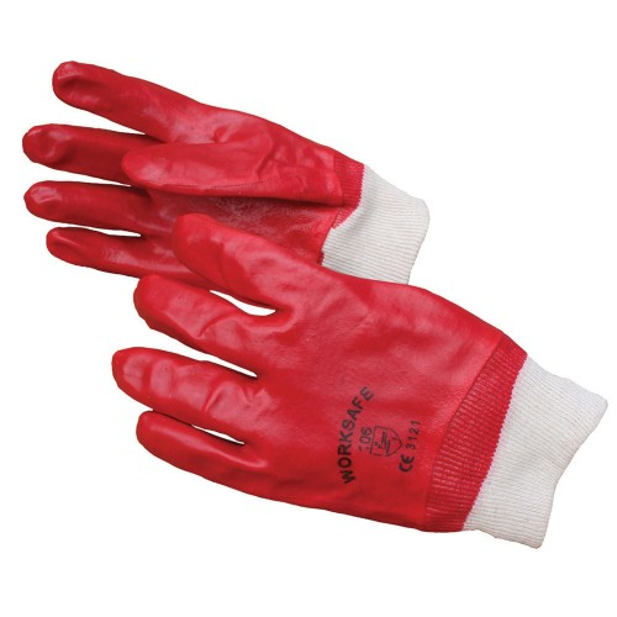 Worksafe PVC Knit Wrist Gloves