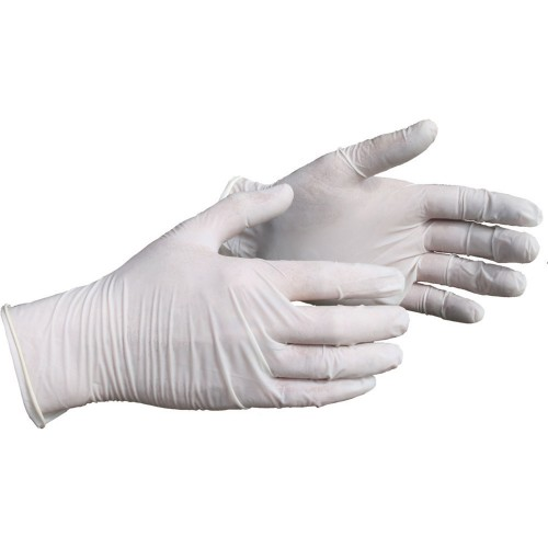 Worksafe Box of 100 X Large Latex Disposable Gloves