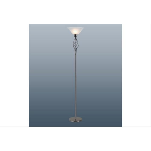 Gun Metal Classic Torchiere Floor Lamp