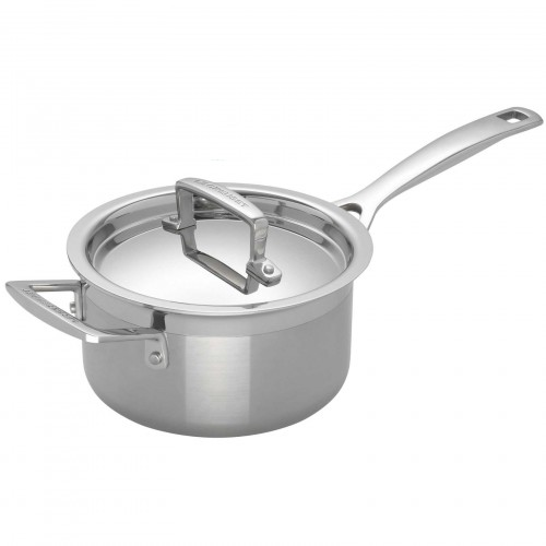 Le Creuset 18cm Saucepan with Lid 3-Ply